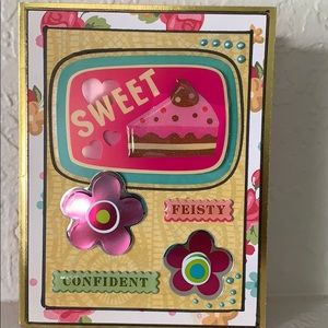 3 dimensional handcrafted card